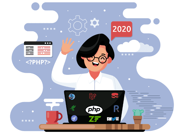 Top PHP frameworks in 2020 according to job availability, popularity, development community and ecosystem, synchronous and asynchronous